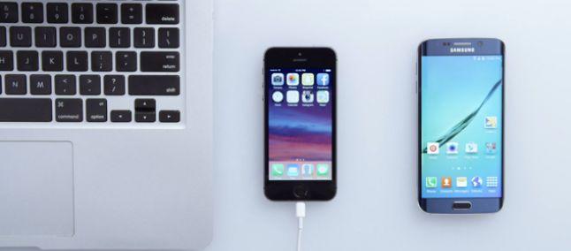 Samsung mostra in vari video come passare da iPhone a S6!