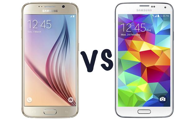 Confronto Galaxy S5 vs Galaxy S6