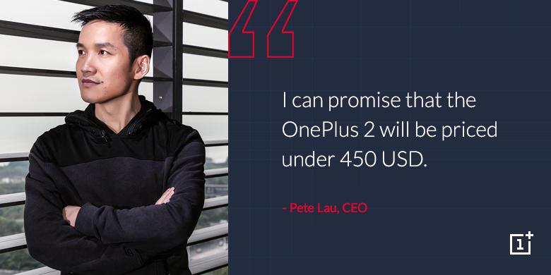 OnePlus 2/ Ufficiale il prezzo, meno di 450 dollari