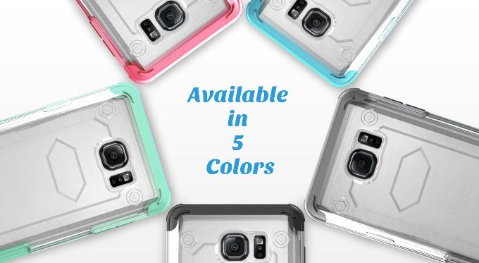 Samsung Galaxy Note 5, mostrato con delle cover da Ulak
