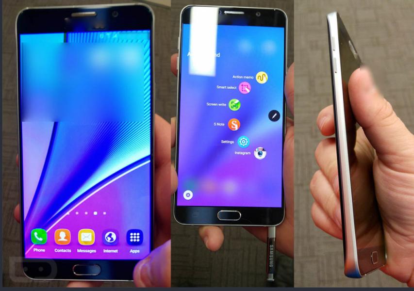 Samsung Note 5 in Foto come non l'avete mai visto!