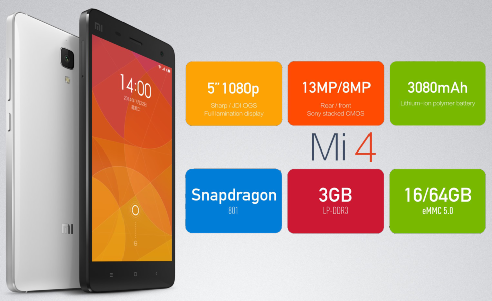 Xiaomi Mi4 - Scheda tecnica approfondita