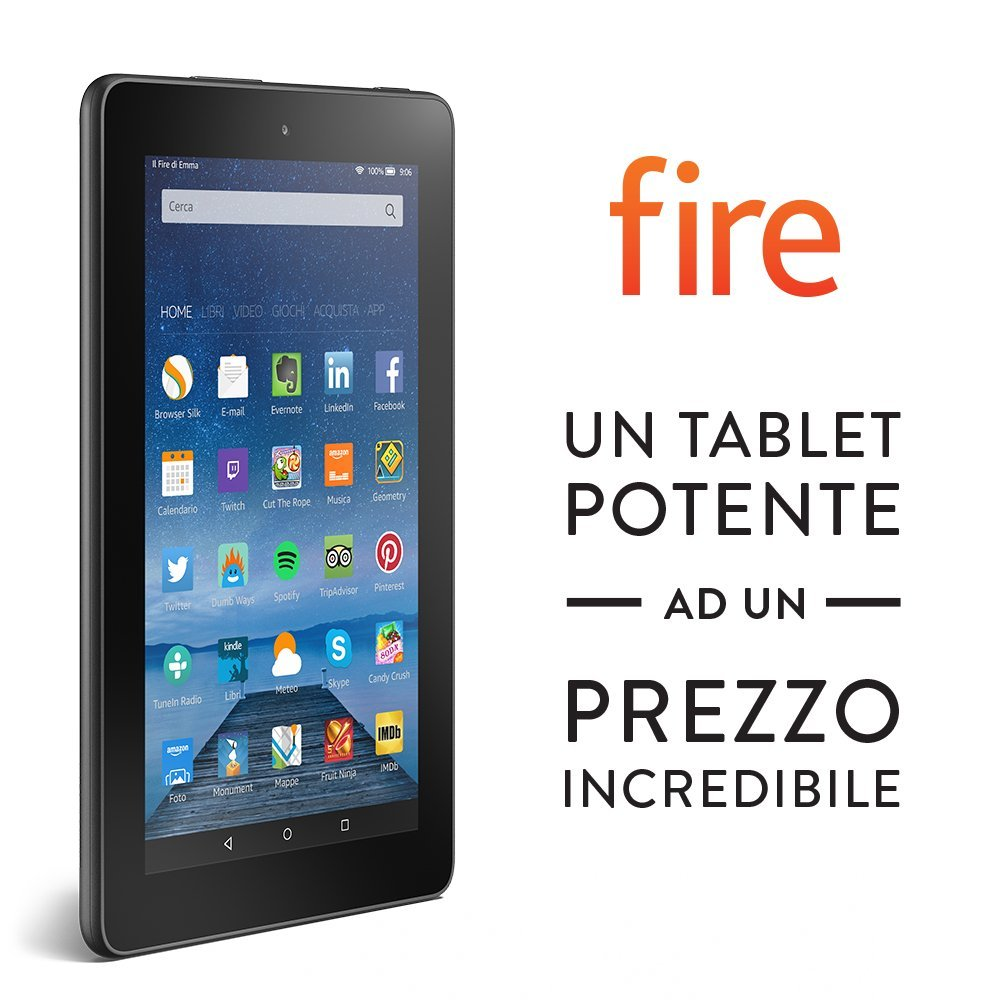 Amazon annuncia FIRE, il Tablet ad un prezzo incredibile: 59€