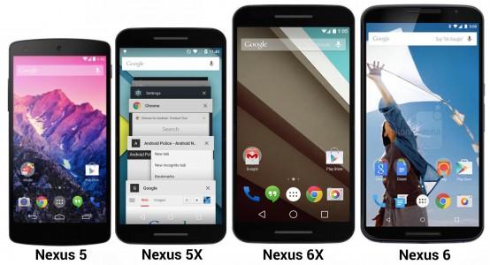 Nexus 5X e Nexus 6P - Ecco i nomi!