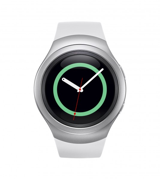 Gear S2 Silver front