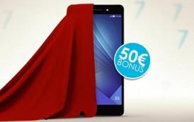 Honor 7: torna lo sconto di 50€, ma solo per un giorno