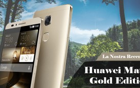 Recensione Huawei Mate 7 Gold Edition