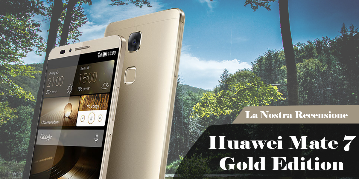 Huawei Mate 7 Gold Edition
