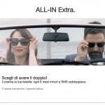 Occhio alla Tariffa   Con Tre ALL-IN hai 200 minuti,200 sms e 4GB in LTE a solo 8 euro al mese