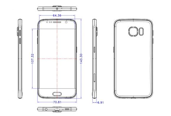 Samsung-Galaxy-S6-due-schemi-rivelano-le-dimensioni-dello-smartphone-1
