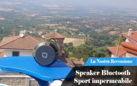 Recensione Speaker Bluetooth Sport impermeabile