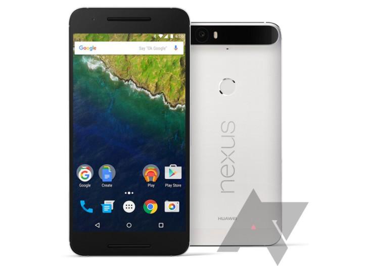 Huawei Nexus 6P - svelato in un'immagine definita (foto device e confezione)