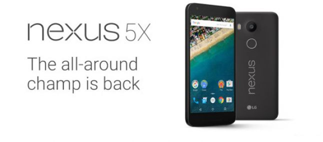 Nexus 5X - Ecco le caratteristiche