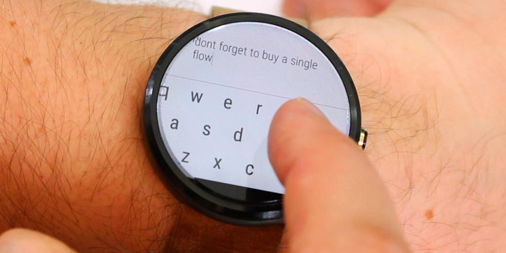 Scrivere su Android Wear potrebbe essere.. complicato! - Video