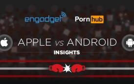 Apple vs. Android - La sfida secondo.. PornHub!