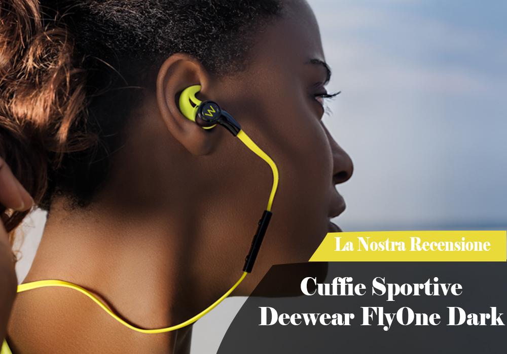 Cuffie Sportive Deewear FlyOne Dark