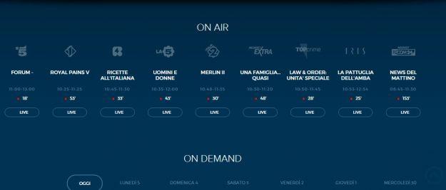 Mediaset-streaming