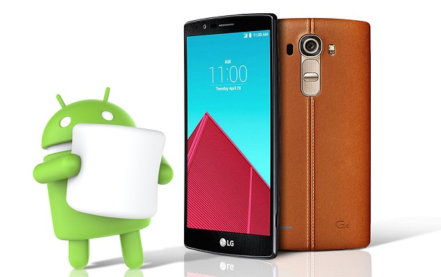 LG annuncia Android 6.0 Marshmallow su LG G4
