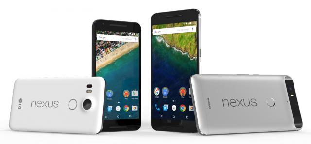 Nexus 5X e Nexus 6P nei primi video unboxing