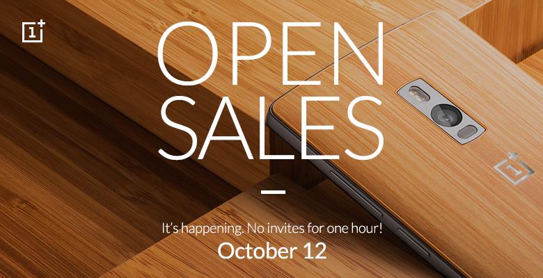 OnePlus Two: Acquistalo senza invito lunedì 12 Ottobre, hai solo un ora..