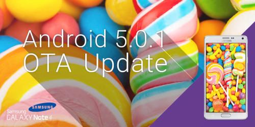 Arriva l'aggiornamento Android 5.1.1 Lollipop per Note 4 Brand Tim e Wind