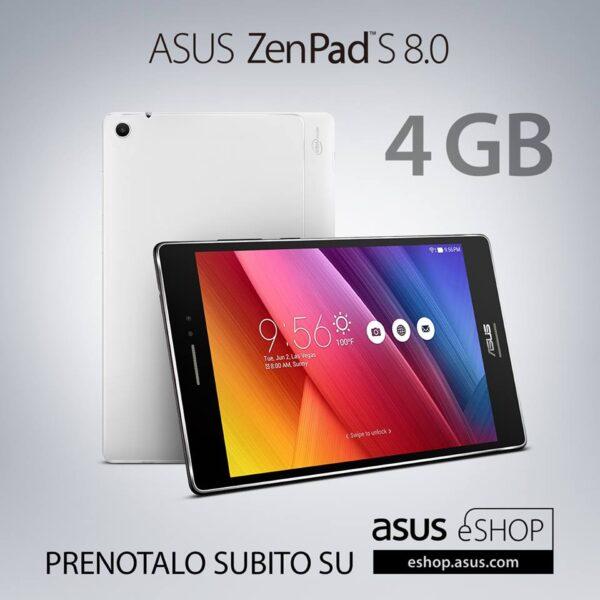 ASUS ZenPad S 8.0 in pre-ordine