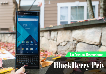 Aggiornamento Software per BLackBerry Priv