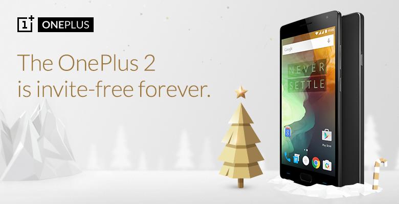 Natale con OnePlus: OnePlus 2 senza inviti e tutti gli accessori in sconto