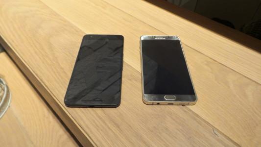 Note5 Vs Nexus 6P