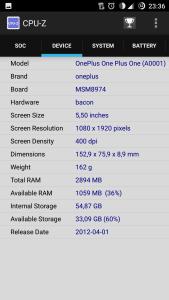 CPU-Z Screenshot1