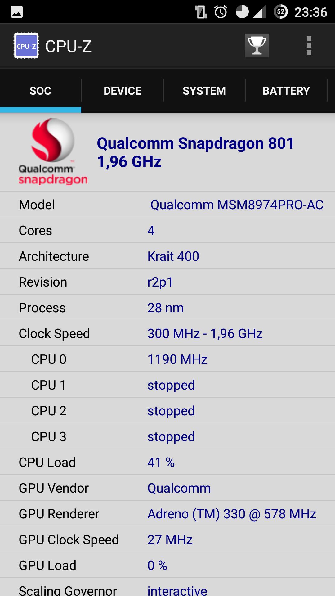 CPU-Z Screenshot2