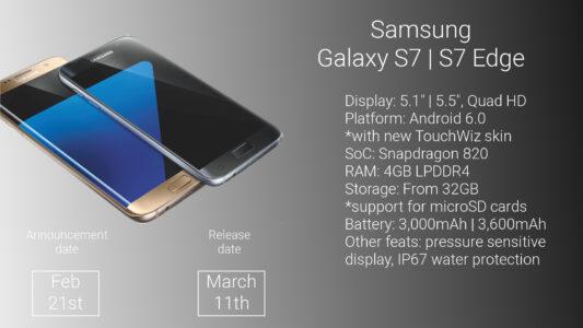 I nuovi Galaxy S7 e S7 Edge in vendita in Italia!