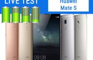 Huawei Mate S   Test Live Batteria