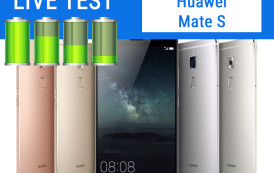 Huawei Mate S | Test Live Batteria