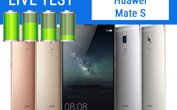 Huawei Mate S | Test Live Batteria