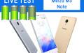 Test Live Batteria + Test Video FHD | Meizu M3 Note