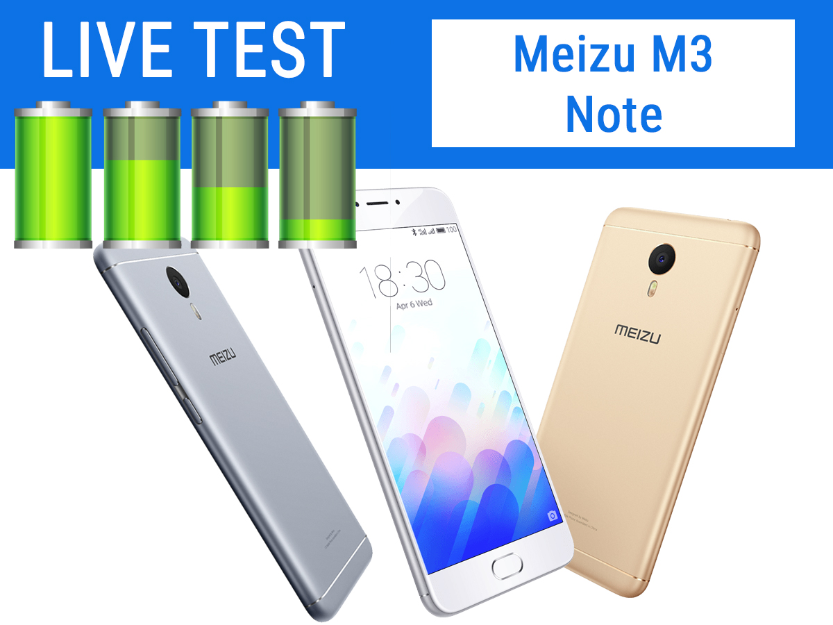 Test Live Batteria + Test Video FHD | Meizu M3 Note