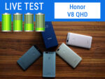 Honor V8 QHD | Test Live Batteria