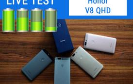 Honor V8 QHD | Test Live Batteria
