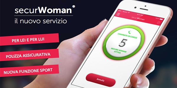 SECURWOMAN 2.0: l'app che ti permette di viaggiare sicura !