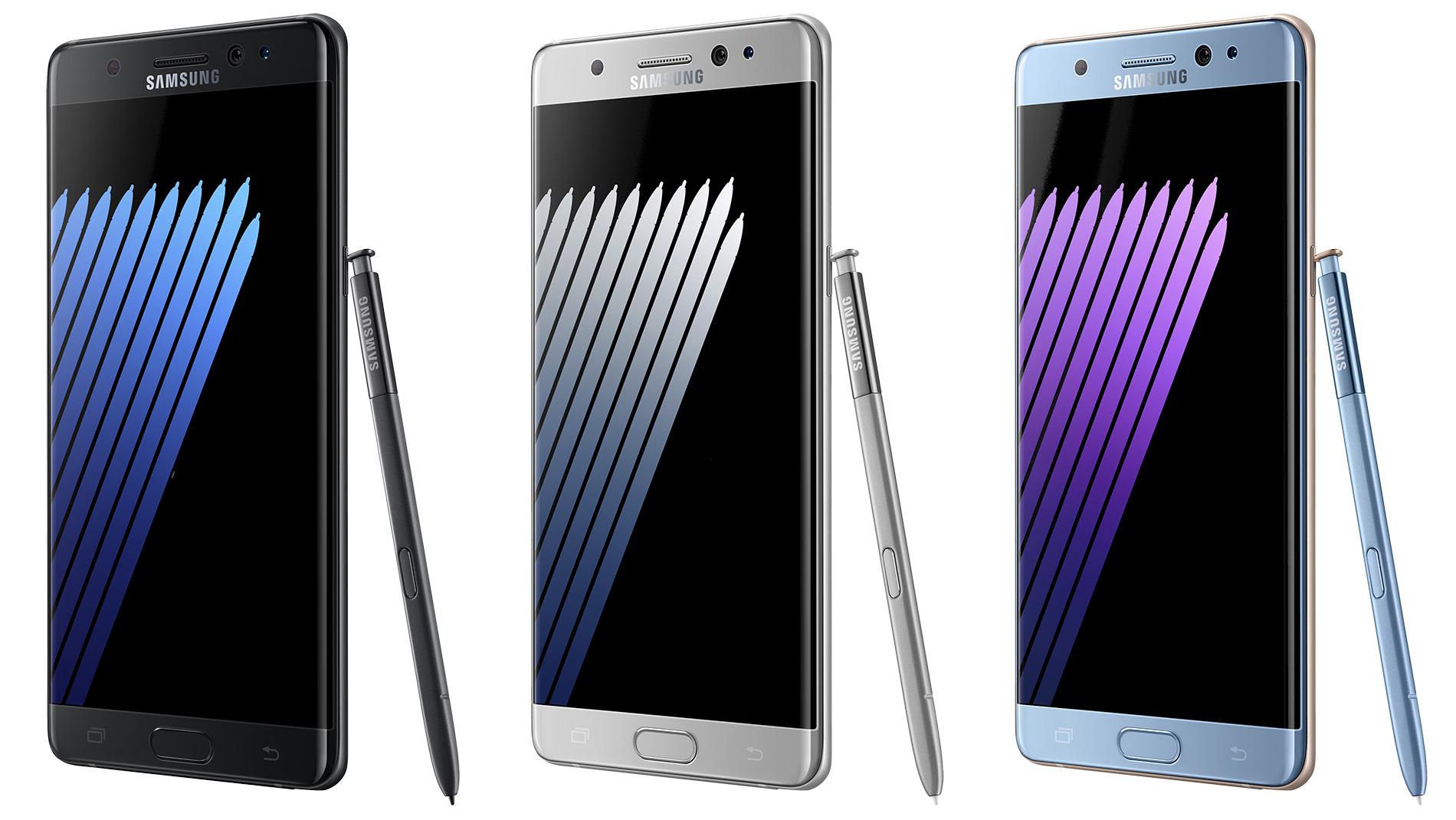 Samsung presenta il nuovo Galaxy Note7