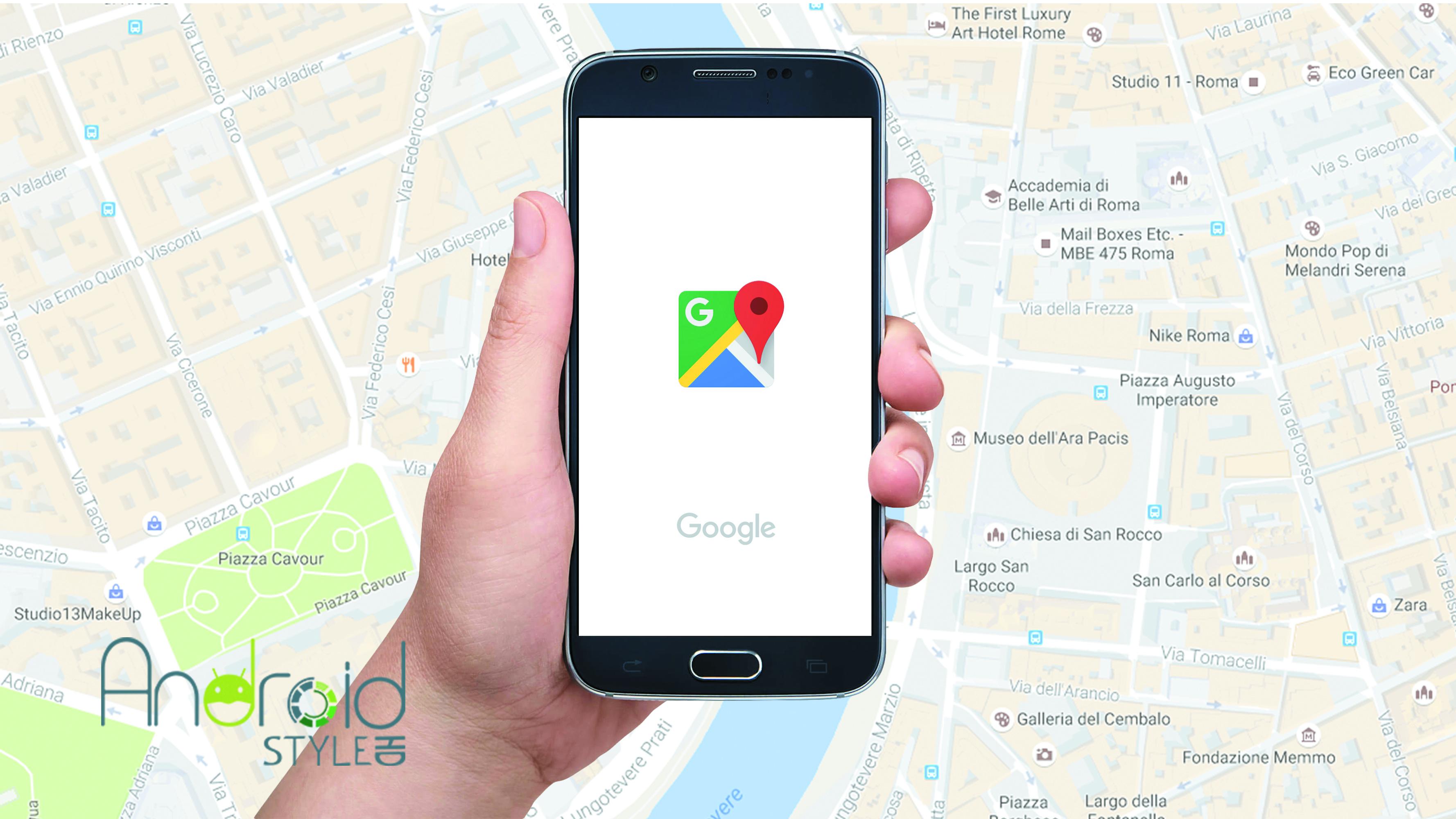 Maps di Google e sai sempre qual'è la direzione giusta!