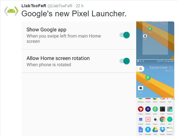 Pixel Launcher finalmente disponibile al download