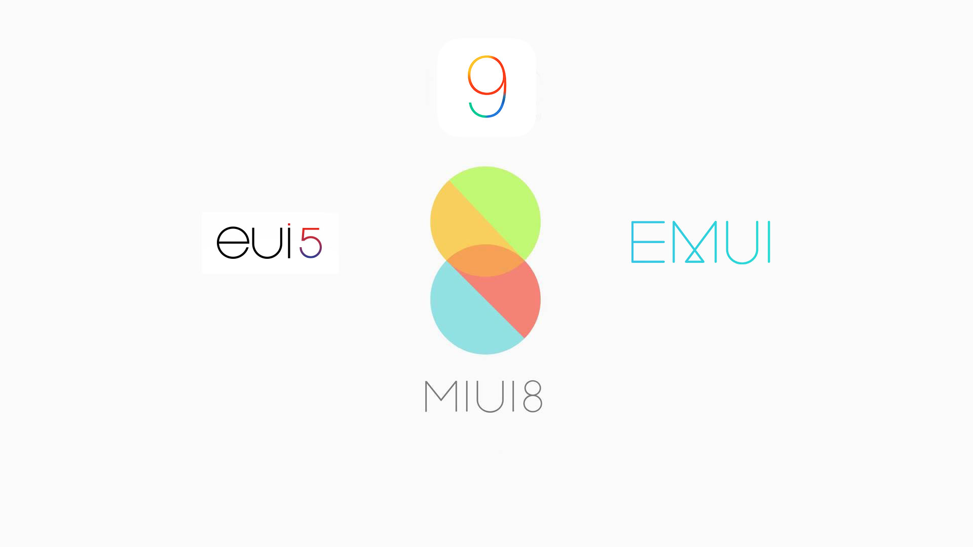 MIUI vs EUI vs EMUI (vs iOs): interfacce a confronto