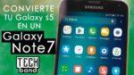 Ecco come trasformare un Galaxy S5 in Note 7
