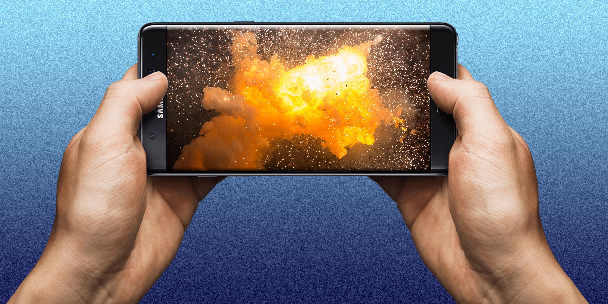 """Samsung: Il Galaxy Note 7 """"esplode"""" nel mercato mondiale!"""