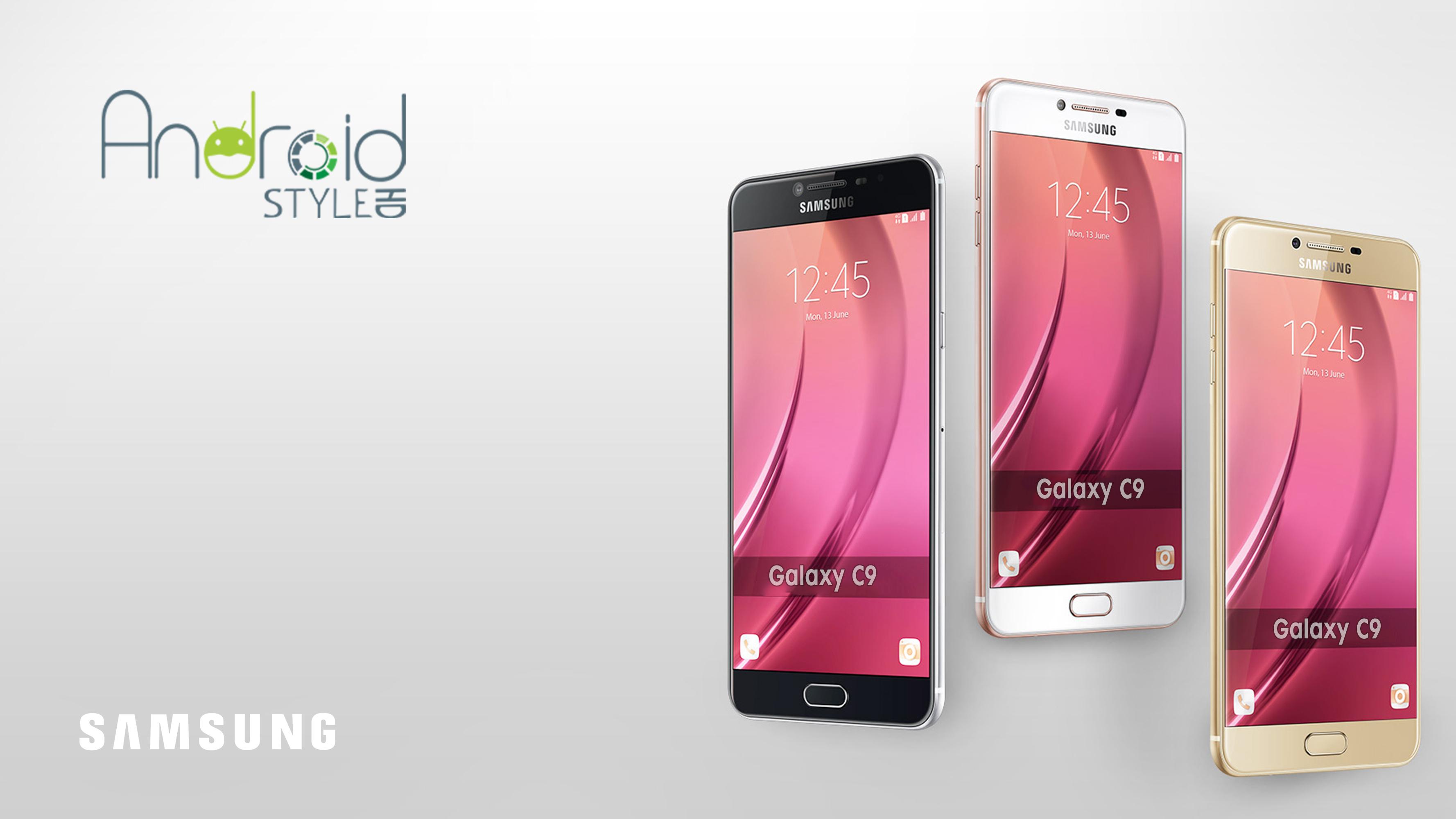 Samsung Galaxy C9 sarà un top di gamma dalle caratteristiche eccezionali!