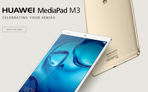 MediaPad M3 disponibile all'acquisto !