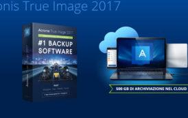 È arrivato Acronis True Image 2017 con backup wireless per dispositivi mobili su computer locali, gestione remota dei backup e backup di Facebook