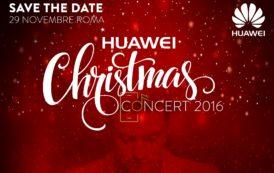 Matthew Lee protagonista del Huawei Christmas Concert 2016